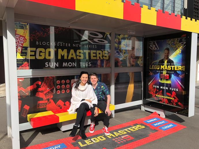 Miller and Kaitlyn didn't expect to find love on LEGO Masters