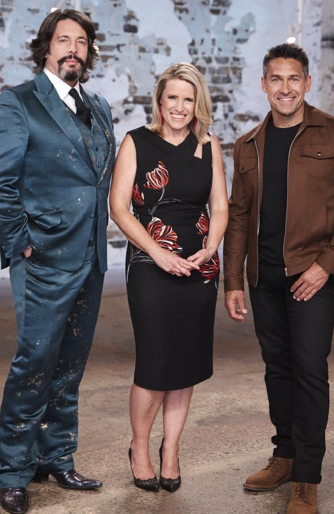 The House Rules judges.  Laurence Llewelyn-Bowen, Wendy Moore and Jamie Durie. *(Source: Channel 7)*