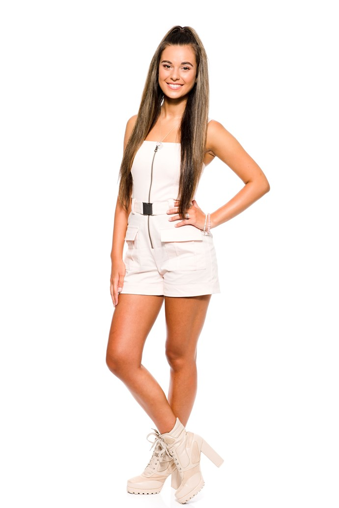 **MADI KRSTEVSKI**  STATE: VIC  YEAR: 2018 <br><br> Madi has unfinished business, having been knocked out by Aydan in the Battles last year. She was part of Team Joe – perhaps she's hoping to work with Guy Sebastian this time around?