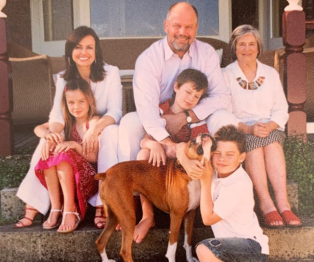 We particularly love this family photo of Lisa with her mum, husband and three kids. *(Image: Instagram @lisawilkinson)*