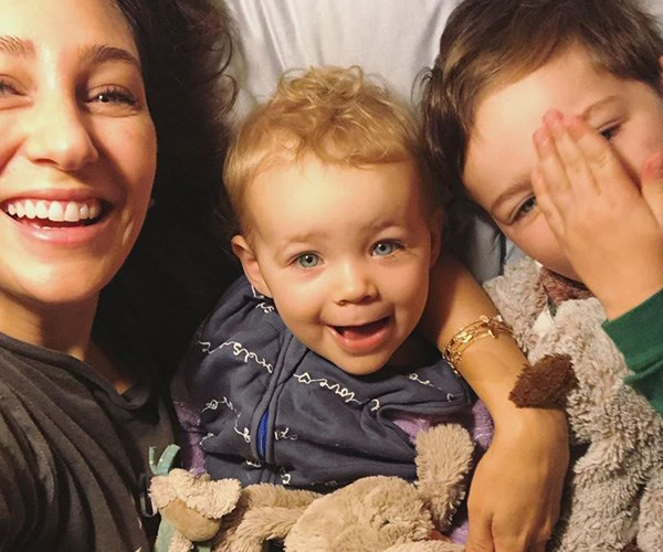 """In one of the most real Mother's Day posts ever, Zoe Foster Blake sent her support to all the mums, """"new or old, swimming or struggling, impending or in mourning, gone or here, drunk or sober, double or single, bored or inspired, hungry or tired."""" *(Image: Instagram @zotheysay)*"""