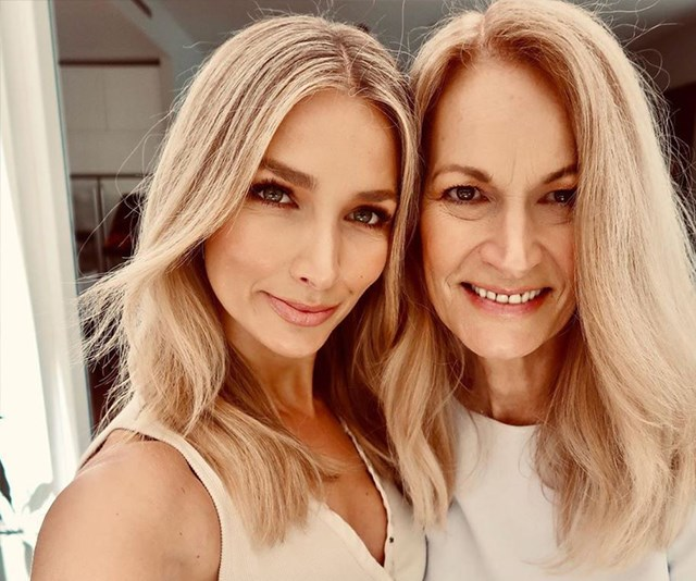 Those are some strong genes: Anna Heinrich and her mum could be twins! *(Image: Instagram @annaheinrich1)*