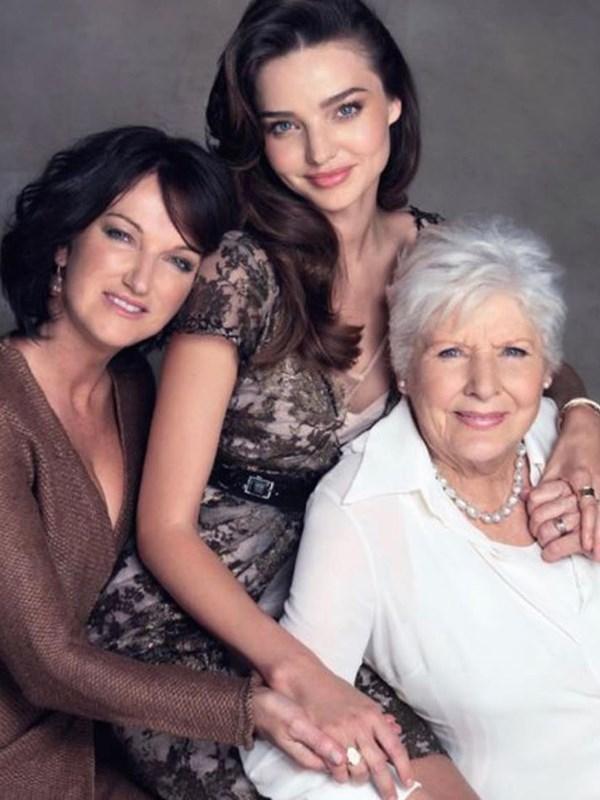 And speaking of gorgeous families, Miranda Kerr, her mum and grandma looked utterly divine in the supermodel's Instagram photo. *(Image: Instagram @mirandakerr)*
