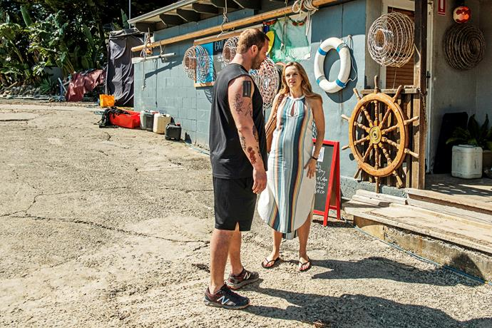 Robbo asks Tori to check on Jasmine (Image: Channel Seven).