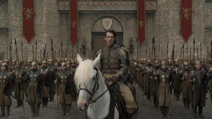**HARRY STRICKLAND, HEAD OF THE GOLDEN COMPANY**  He brought with him 20,000 men and 2000 horses to fight alongside Cersei Lannister, but not even that was enough to save Harry who was brought to his demise by the Dothraki during battle.
