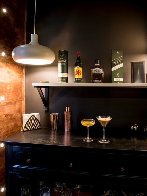 And a cocktail cabinet is a must!