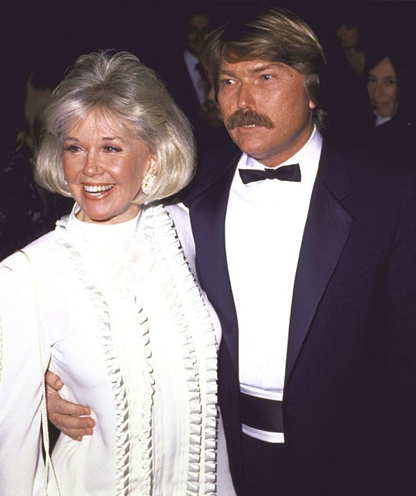 Doris pictured with her son Terry, whose father was Al Jorden, in 1988. *(Image: Getty Images)*