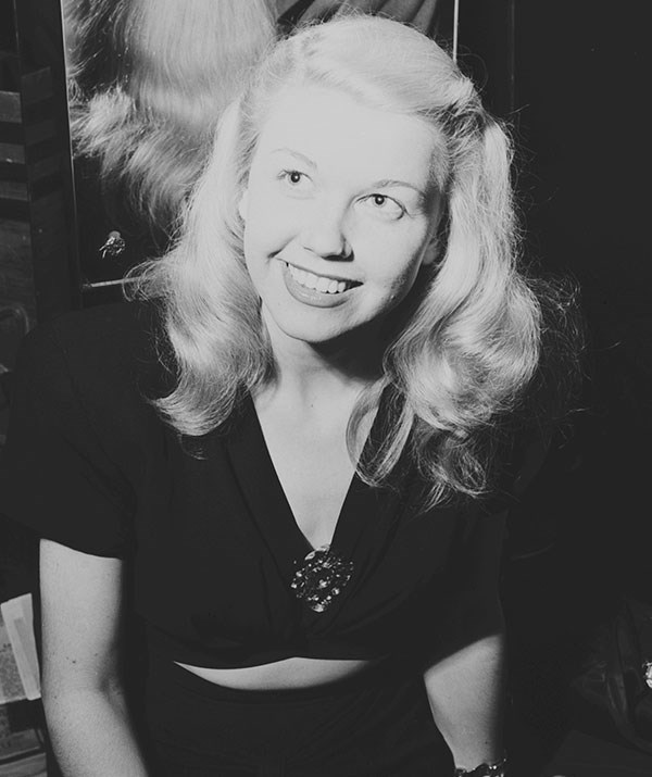 Doris Day pictured in 1946. *(Image: Getty Images)*