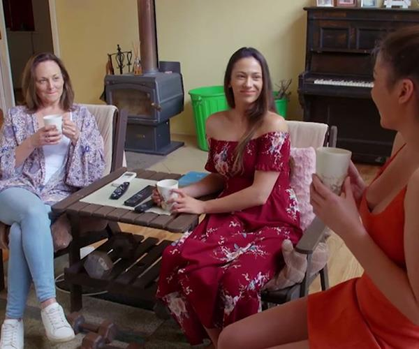 Mikaela and Eliza are on *House Rules* to give their mum a fresh start. *(Image: Channel Seven)*