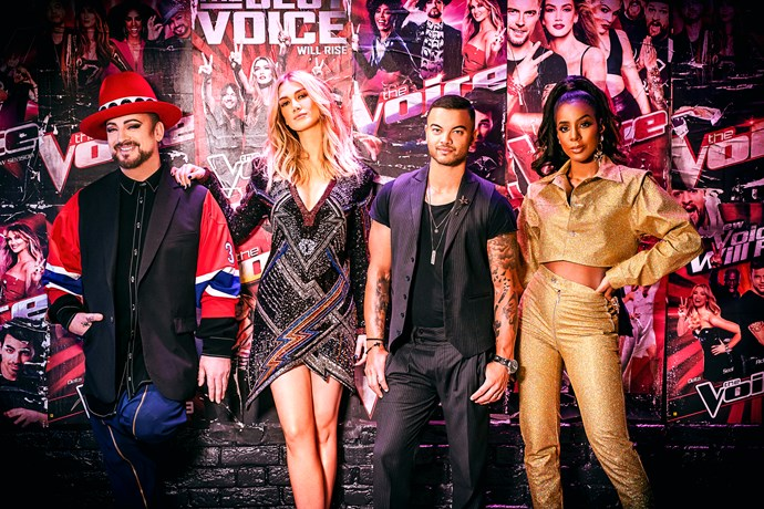 Kelly returns to *The Voice Australia* in 2019 (Image: Nine Network).