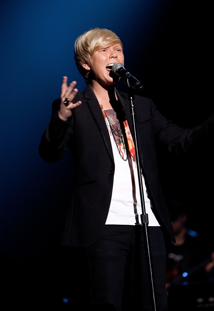 Jack's incredible voice eventually helped him win the 2011 season of Australia's Got Talent. *(Image: Getty)*
