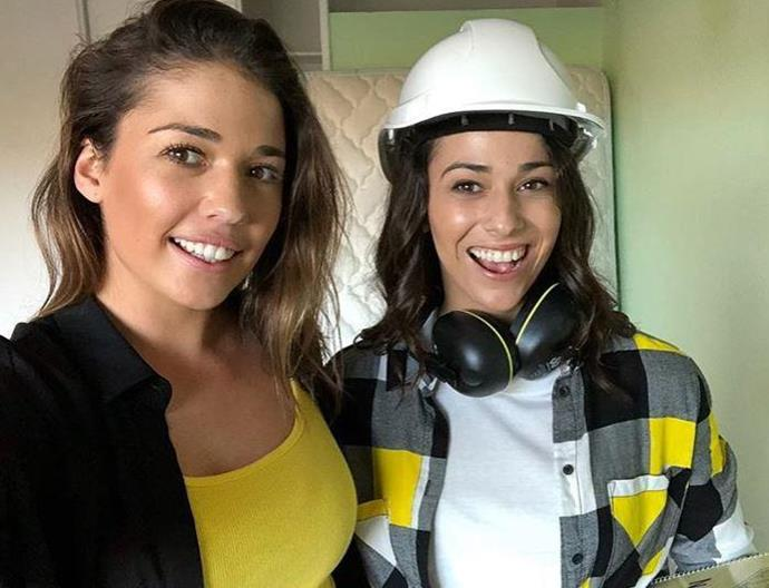 It's been one hell of a rollercoaster for Mikaela and Eliza on *House Rules*. *(Image: Channel Seven)*