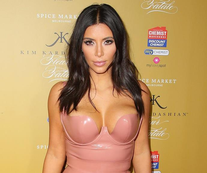 Kimmy K has nailed that sultry stare. *(Image: Getty Images)*