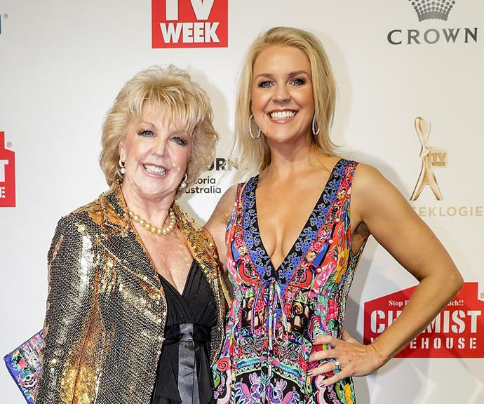The stunning mother-daughter duo at the 2017 Logie Awards. *(Image: Getty)*