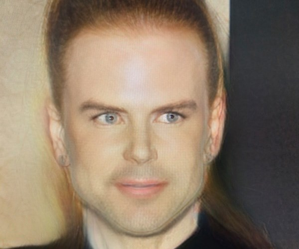 But Nicholas Kidman looks more like a serial killer...*(Image: Getty Images/Snapchat)*