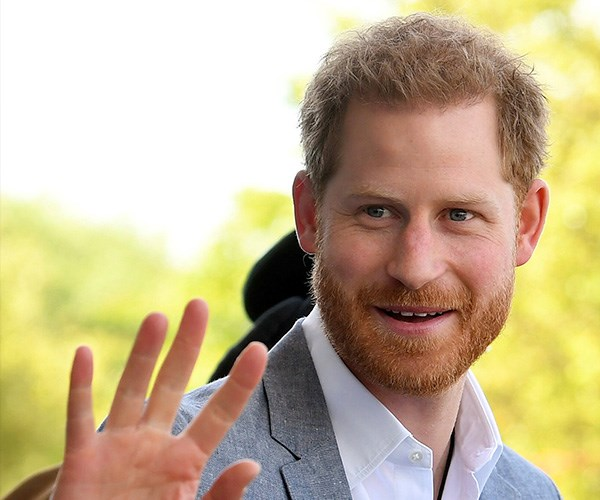 Prince Harry is one dashing new dad. *(Image: Getty Images)*