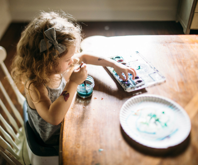 Craft time helps your toddler develop different skills to other kinds of play.
