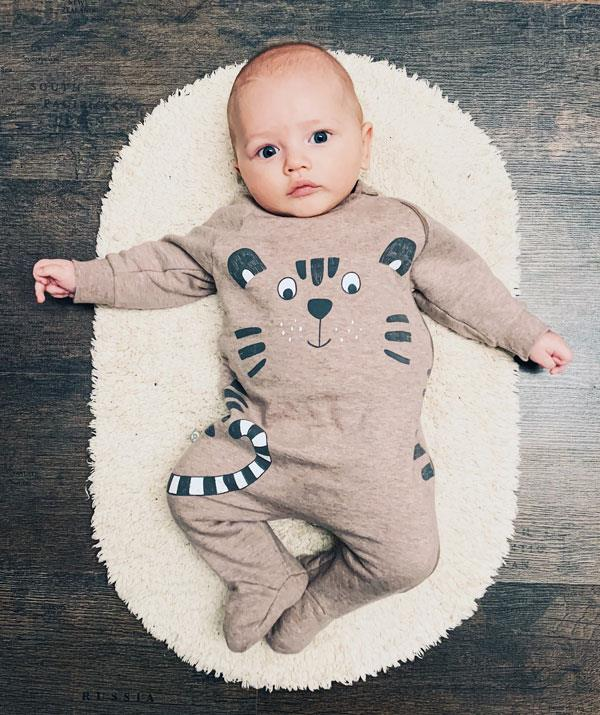 At four months, your bub is likely to sleep for longer stretches. *(Image: Getty Images)*