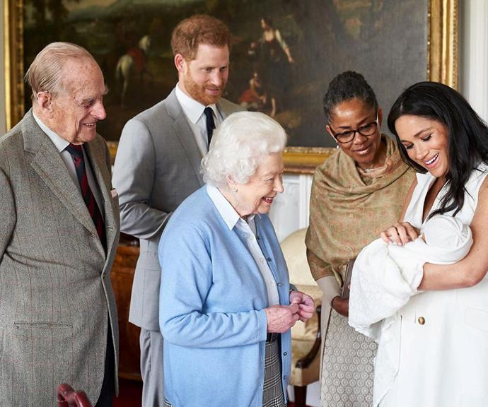 What an iconic shot! *(Image: @theroyalfamily/Instagram)*