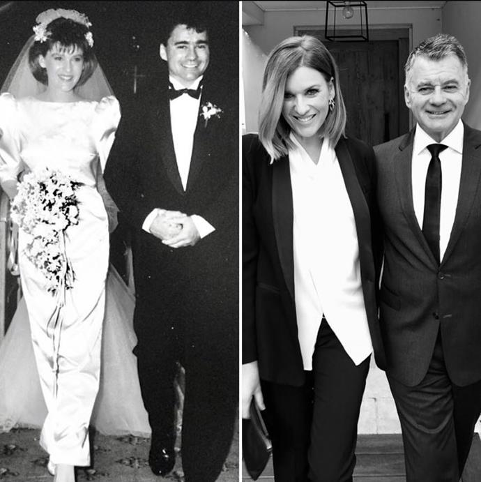 Kylie and husband Tony have been married for 30 years.
