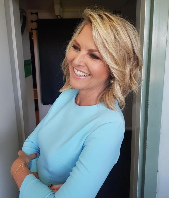 Georgie Gardner has taken a cheeky dig at Karl Stefanovic.