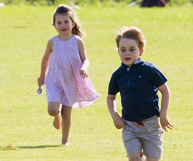 Prince George and Princess Charlotte are reportedly very excited to meet their new cousin.