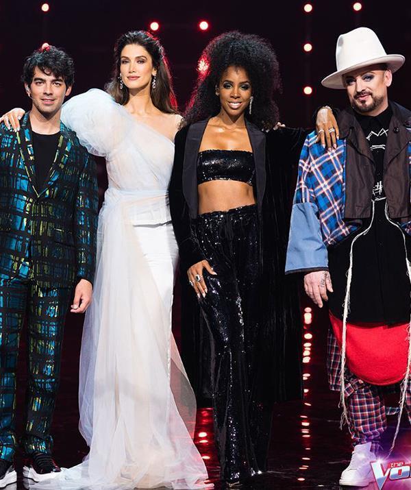 Guy Sebastian is replacing Joe Jonas (left) as a coach on the new season of The Voice.