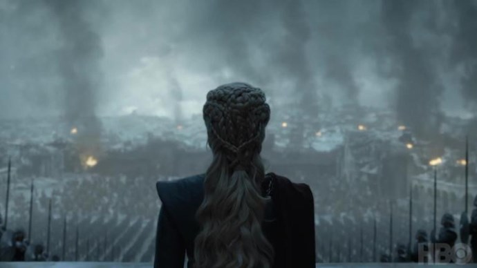 What will the Mother of Dragons do with her army? (Image: Youtube/Game of Thrones).
