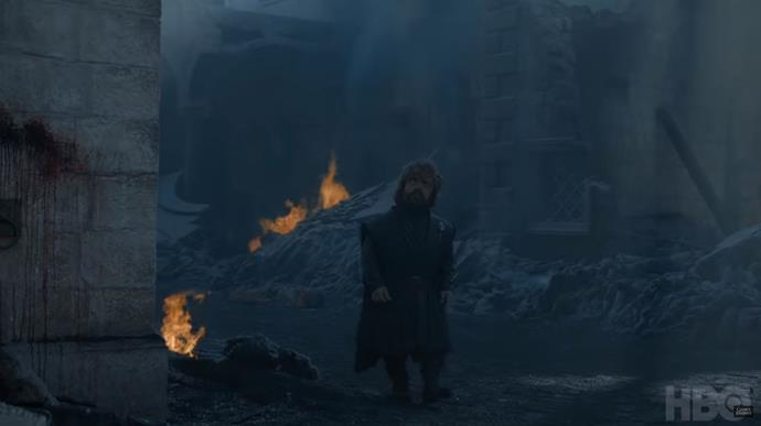 Tyrion is officially done with Dany after this mess (Image: Youtube/Game of Thrones).