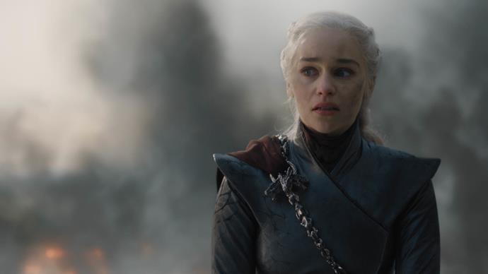 Daenerys went full 'Mad Queen' in the last episode (Image: HBO)