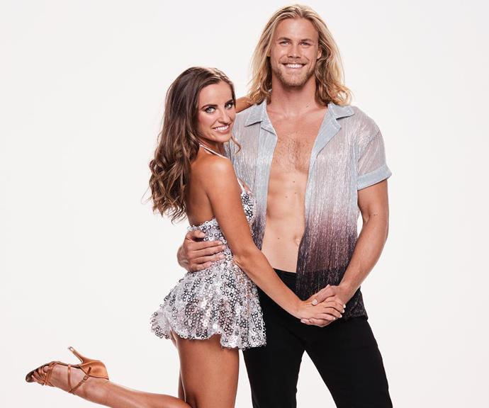 Jett and Lily met in January this year on Dancing With The Stars when they were matched as partners. *(Image: Channel 10)*