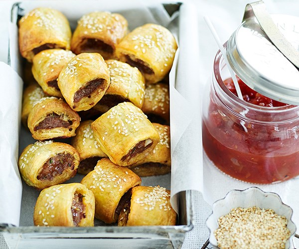 """While a sausage sizzle at the polls in an election day classic, these **[basic sausage rolls](https://www.womensweeklyfood.com.au/recipes/basic-sausage-rolls-1548 target=""""_blank"""")** are a classic all year round."""