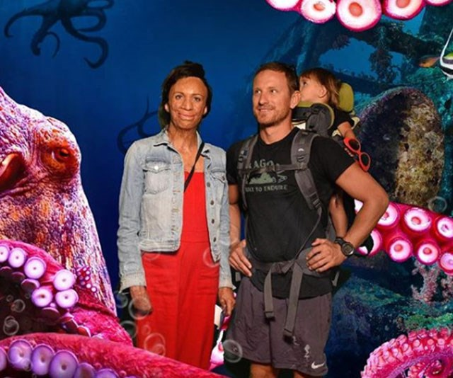 """Our hearts! Turia and Michael often shares snaps of their family outings, including this one in March 2019 when the trio took a trip to the aquarium. She wrote of little Hakavai: """"You'd have a bemused expression if you were surrounded by cephalopods too!"""""""