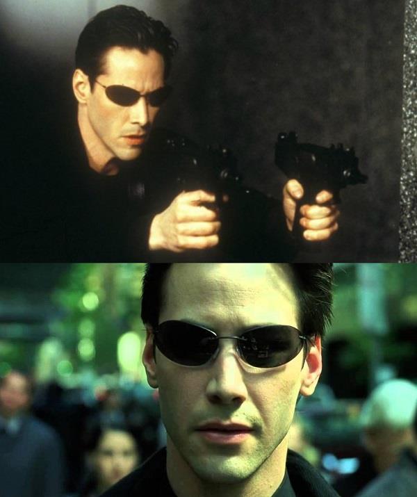 Keanu Reeves as Neo. (Image: *Warner Bros*)