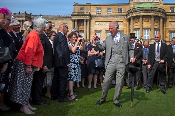 Prince Charles was well and truly on form!