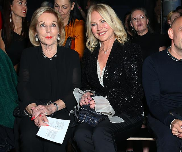 Sitting front row next to Aussie media legend Ita Buttrose, Kennerley was a force to be reckoned with!