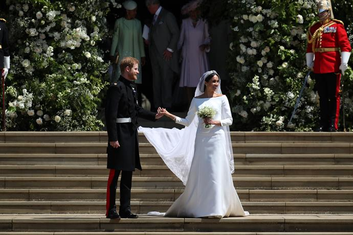 Meghan and Harry married at St George's Chapel almost a year to the day ago!