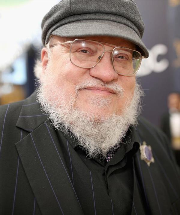 George R. R. Martin is still writing books in the *A Song of Ice and Fire* series after *Game of Thrones* finishes. *(Getty)*