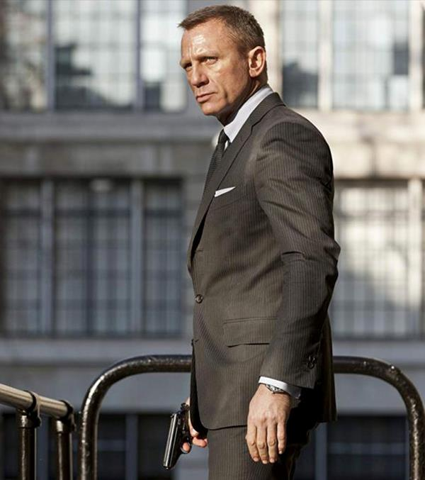 Daniel Craig as James Bond in *Skyfall* *Image: Columbia Pictures*