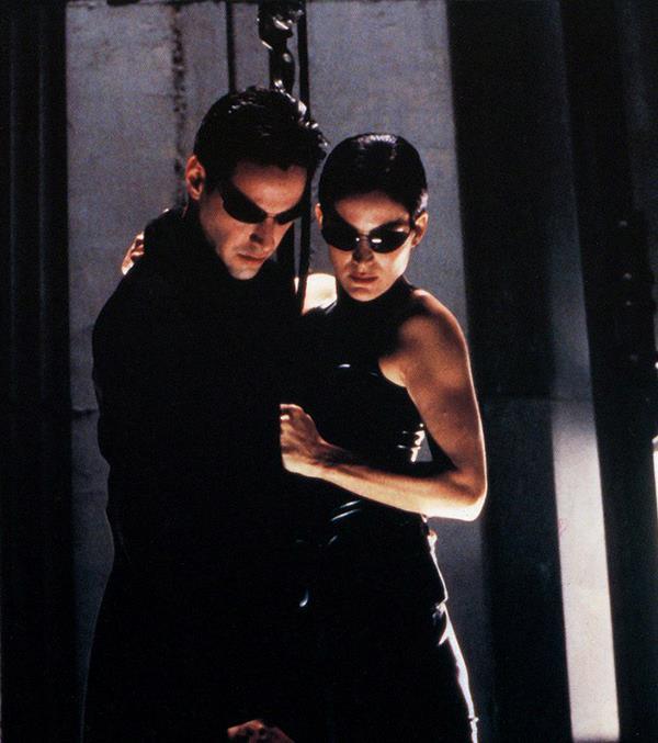 Neo and Trinity. (Image: *Warner Bros*)