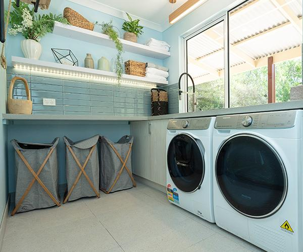 Well we wouldn't mind having to do our chores in here!