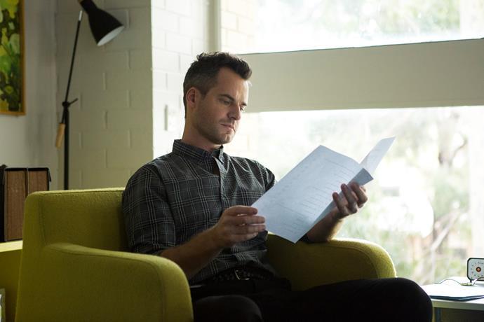 Forensic psychiatrist Greg Miller (David De Lautour) arrives at Wentworth  (Image: Showcase).