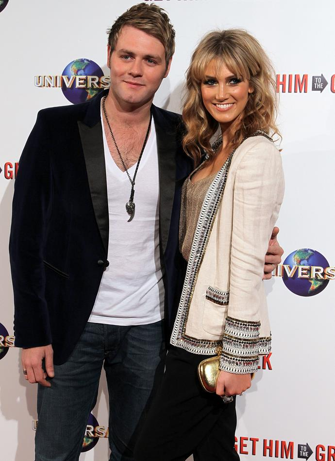 Delta and Brian McFadden were even engaged to be married.