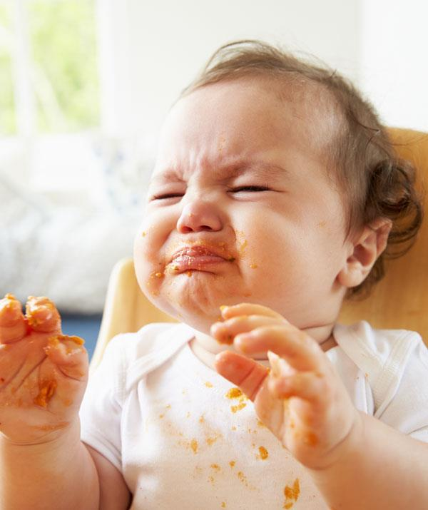 Sometime babies need to be exposed to a food six to seven times before they will taste it. *(Image: Getty Images)*