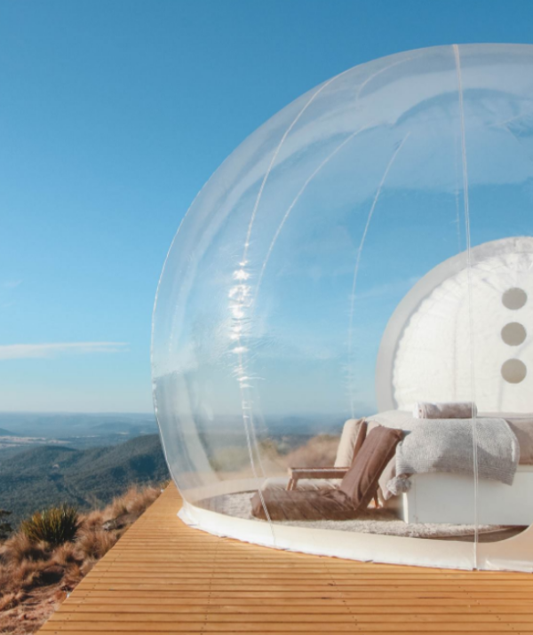 The five-star bubble tent trend doesn't look like it'll burst any time soon...