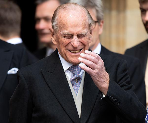 Prince Philip is the truffle mastermind of the royal family.