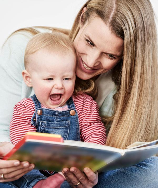 Encourage your little one's language skills by using the correct pronunciation of words. *(Image: Getty Images)*