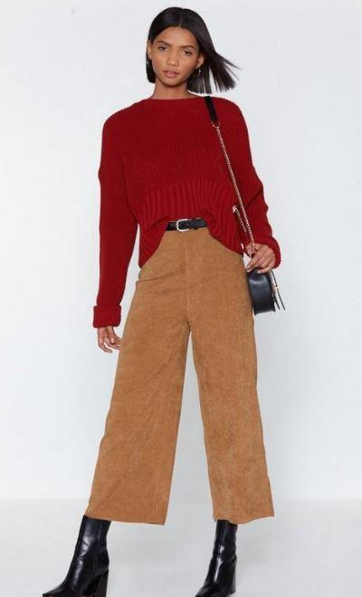 "Nasty Gal Wide of the Mark Corduroy Culottes, $22.50, shop them [here](https://www.nastygal.com/au/wide-of-the-mark-corduroy-culottes/AGG81547-166-18.html|target=""_blank""