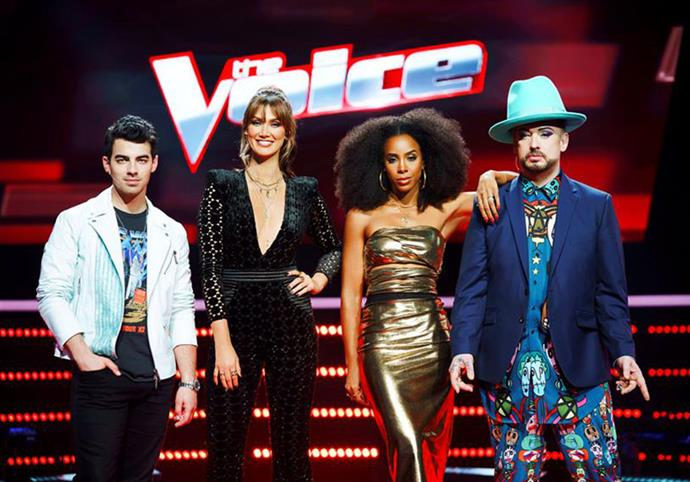 "**Season seven** Delta continued to stick around for season seven and Kelly Rowland and Boy George also came back for more. [Seal left the show for the second time](https://www.nowtolove.com.au/celebrity/tv/seal-wont-do-the-voice-2018-41786|target=""_blank"") and former teen heartthrob Joe Jonas made the trip Down Under and got comfy in the empty red chair. *(Image: Channel Nine)*"