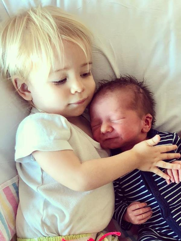 "Jim and Laura's youngest son Jack was born late on Christmas Eve and apparently ""spent much of the time since in the cuddling arms of his very proud mum, dad, big brother and *big* sister."""
